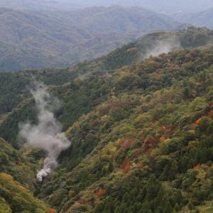 秋の峠は色鮮やか - 2019年紅葉・山口線 -