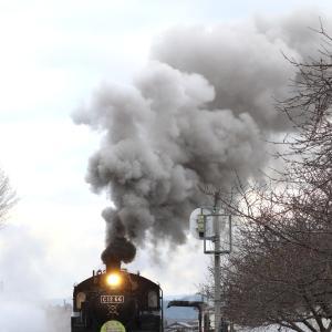 おまけの西田井発車はいつも通りに良煙 - 2020年冬・真岡鉄道 -