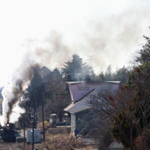 発車の汽笛が響く - 2020年冬・真岡鉄道 -