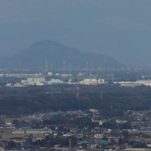 高原山は微かに雪化粧 - 2020年冬・真岡鉄道 -