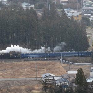 雪が舞う朝の白煙 - 2020年・東武鬼怒川線 -