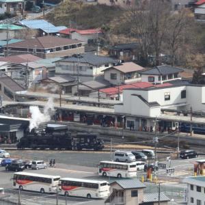 転車台には人だかり - 2020年・東武鬼怒川線 -