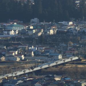 夕方の大谷川 - 2020年・東武鬼怒川線 -