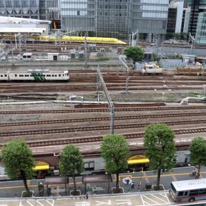 今日の東京駅 - 2020年・ドクターイエロー&185系 -