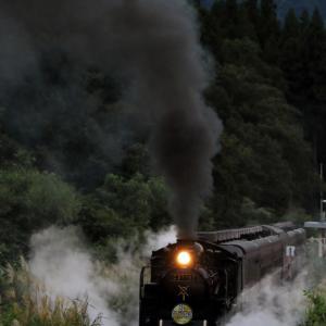 夕暮れの発車 - 2020年初秋・磐越西線 -
