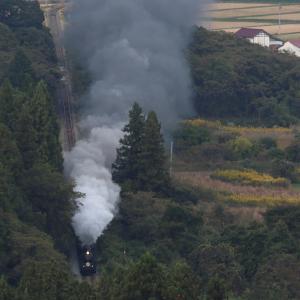 今日もC57は元気いっぱい、いい煙でした - 2020年秋・磐越西線 -