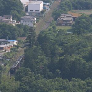 緑の森と民家の中を突き抜ける - 2021年初夏・秩父鉄道 -