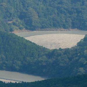 湖のように見える大井川 - 2021年残暑・大井川鉄道 -