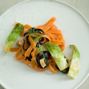 蕾菜のパスタ