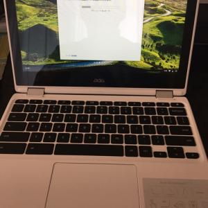 【お知らせ】Chromebookを買いました!