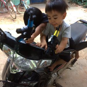 次男のカンボジア国籍