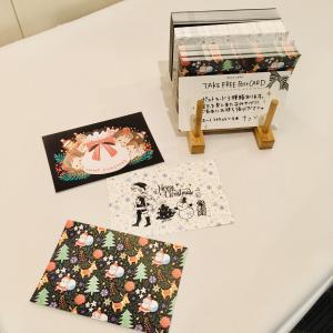 【展示会】クリスマス展始まりました!&イロイロメガネ在廊日13日(18日?)