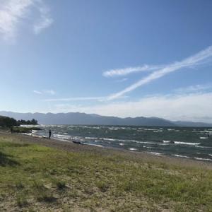 秋の琵琶湖シーズンが始まりましたね@新海浜_2019_09_19