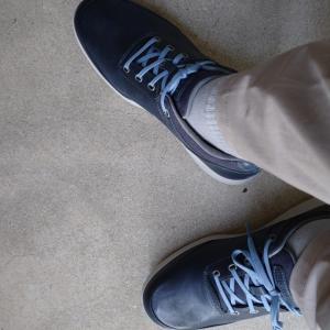 靴をおろす