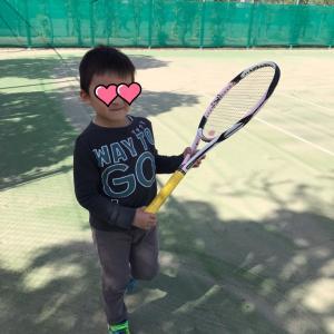 ☆今年初のテニスでした☆