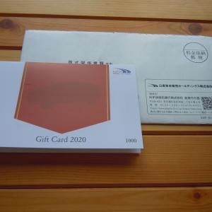 8291 日産東京販売HD 優待到着