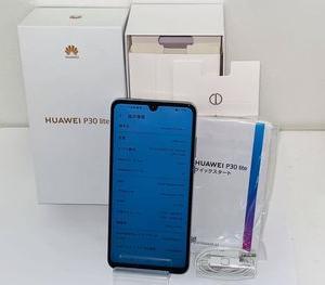 モバイル市場☆SIMフリー★超美品 Y!mobile HUAWEI P30 lite☆買取りました♪