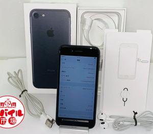 モバイル市場☆SIMフリー★docomo iPhone7 32GB★〇判定☆NNCE2J/A★ブラック☆買取りました♪