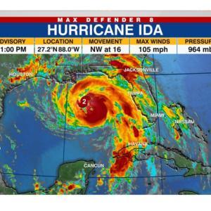【ハリケーション】ハリケーン避難を理由にバケーションをとるルイジアナ州民
