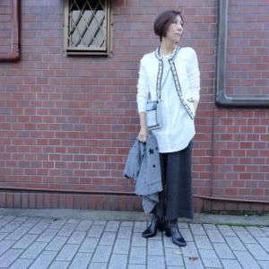 【着用写真を追加しました】FLY GIRLフライガール☆パール使いカーディガン