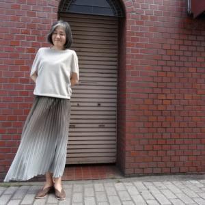 プライオリティ☆プリーツグラデーションスカート