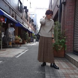 iriseイリゼ☆リバーシブルプリントスカート