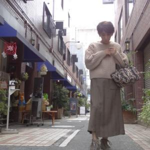 シビリゼ☆ウールタッチヘリンボーンスカート