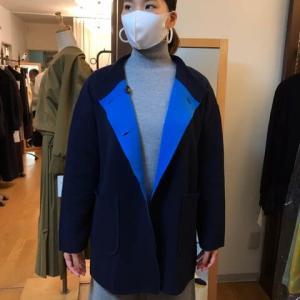 iriseイリゼ☆ダブルフェイスニットジャケット