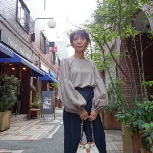 【着用写真を追加しました】CYNICALシニカル☆パフスリーブインナーカットソー