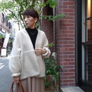 PASSIONEパシオーネ☆リバーシブル|フェイクムートンジャケット