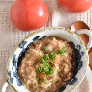 群馬県産トマトでさっぱりトマトのたまご雑炊♡~ぐんまアンバサダー~