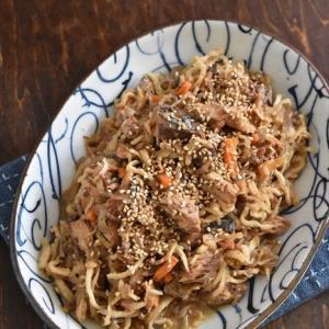 レシピブログでの連載更新しました♪~買い置き食材で作れる!切り干し大根とサバの味付け缶の炒め煮