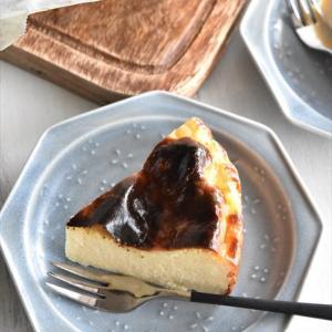 生クリーム不要!ヘルシーバスクチーズケーキ