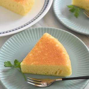 マイナビニュースでの連載更新しました♪~第8回炊飯器で作る! - 簡単「濃厚チーズ蒸しケーキ」