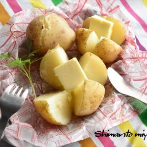 マイナビニュースでの連載更新しました♪~第9回炊飯器で作る! - 簡単「ほくほくじゃがバター」