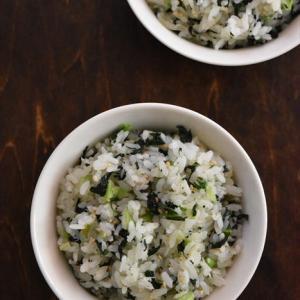 カルシウムたっぷり!群馬県産小松菜で絶品!菜飯~ぐんまアンバサダー