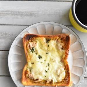 冷凍作り置きトースト~カレーマヨツナトースト