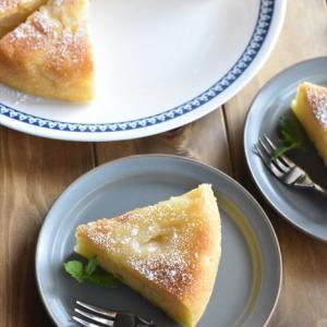 マイナビニュースでの連載更新しました♪炊飯器で作る! - 簡単「りんごのアップサイドダウンケーキ」