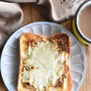 冷凍作り置きトースト~おかかチーズトースト
