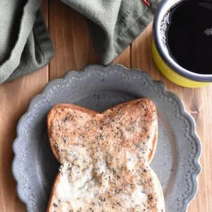 冷凍作り置きトースト~コーヒーのクッキートースト