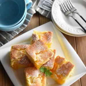 レシピブログでの連載更新しました♪トースターで簡単!フルーツ缶で作る「簡単フルーツケーキ」