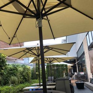 週末大阪梅田の外カフェとバルチカたこやき