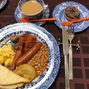 イングリッシュブレックファスト・朝食と紅茶