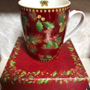パレロワイヤルのクリスマス柄マグカップ