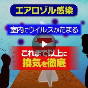 【警告】変異株N501Yはマスクでも感染5m離れていても感染エアロゾイルに警戒