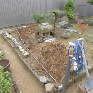又 ミニ庭園作り