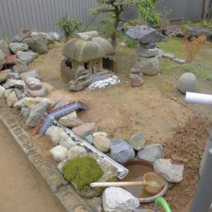 ミニ庭園作り