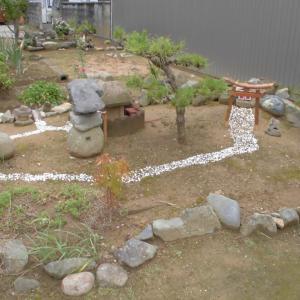 今日も 庭園です