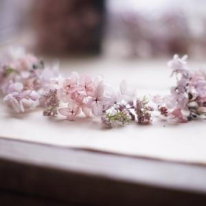 愛情いっぱいのミニ花冠