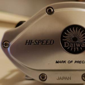 ダイワ ファントム ST-15の遠心ブレーキのブロックをインクねちょねちょのボールペンの芯で作った。